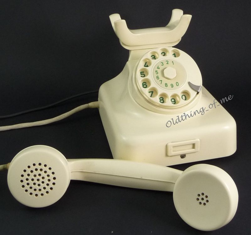 Telefon W49 hellelfenbeinweiß Hagenuk umbaubar 2