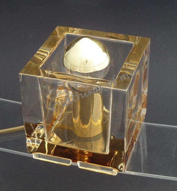 Nachtmann Kubus Cube Würfel Tischlampe