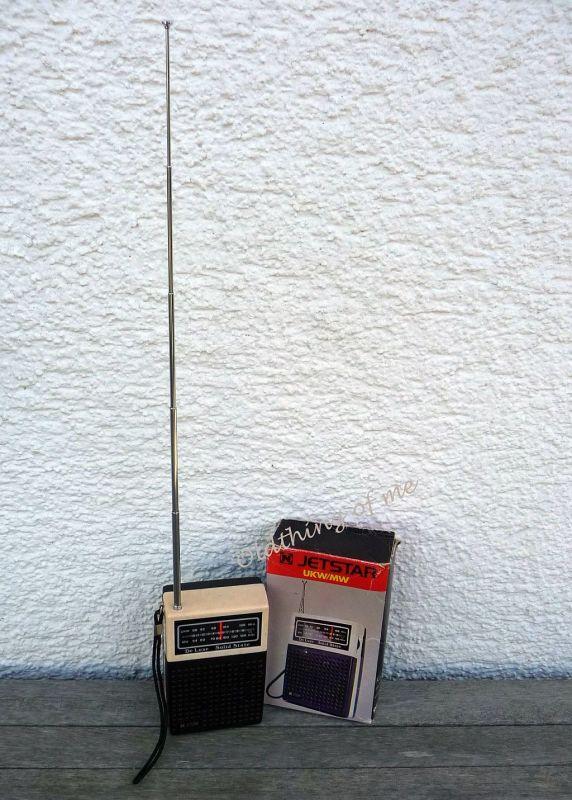 Tranistor Radio JETSTAR Solid State De Luxe UKW MW 2