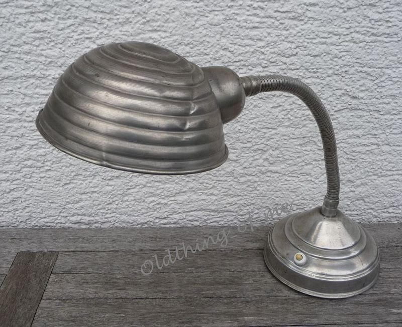 antikeTischlampe Arbeitslampe Schwanenhals ähnlich Bag Turi 2