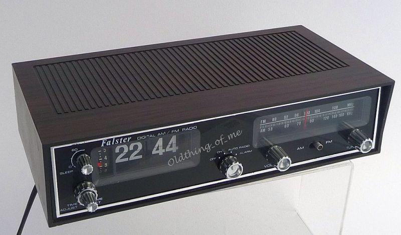 Klappzahlen Radiowecker Klappzahlenwecker UKW MW