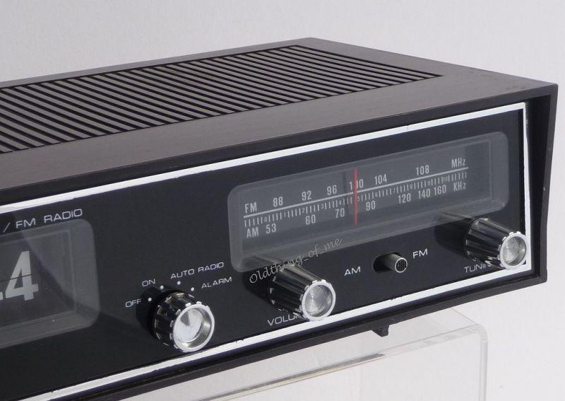 Klappzahlen Radiowecker Klappzahlenwecker UKW MW 2