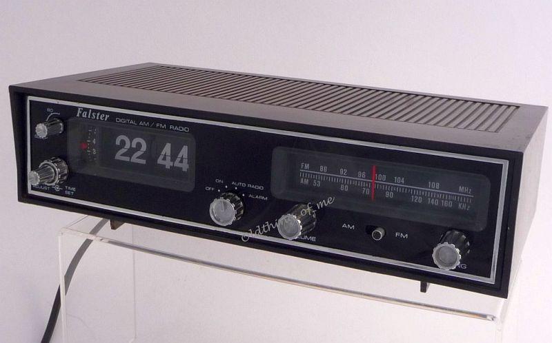 Klappzahlen Radiowecker Klappzahlenwecker UKW MW 3