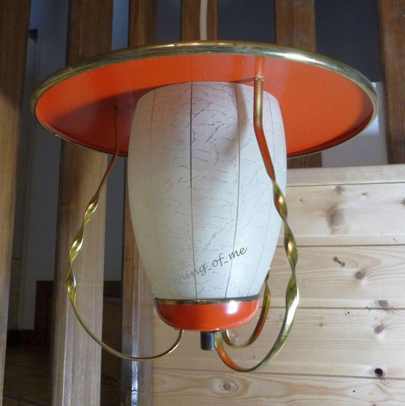 Deckenleuchte Hängelampe Flurlampe Pilzlampe 60er