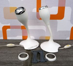 kultige Wandlampen von Carl Öjerstram Space Age 1 Paar