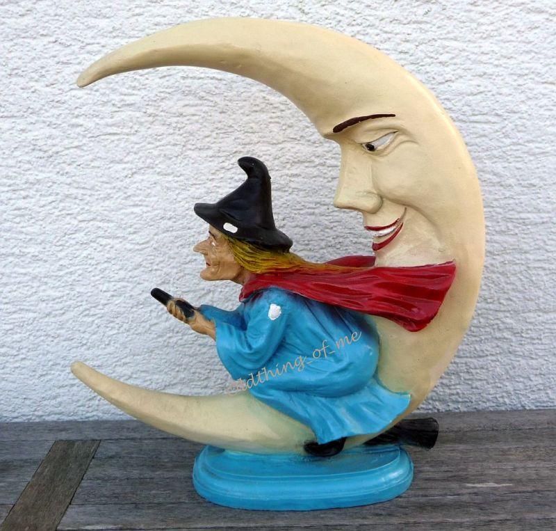 Hexe Halbmond Mond Ø43cm 2