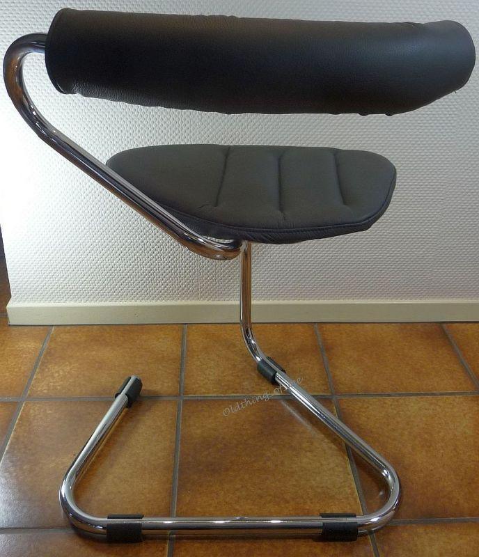 B5 Stuhl von Stefan Wewerka Einschwinger für Tecta, 1982