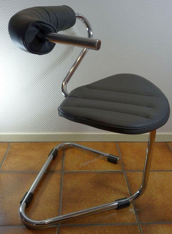 B5 Stuhl von Stefan Wewerka Einschwinger für Tecta, 1982 1