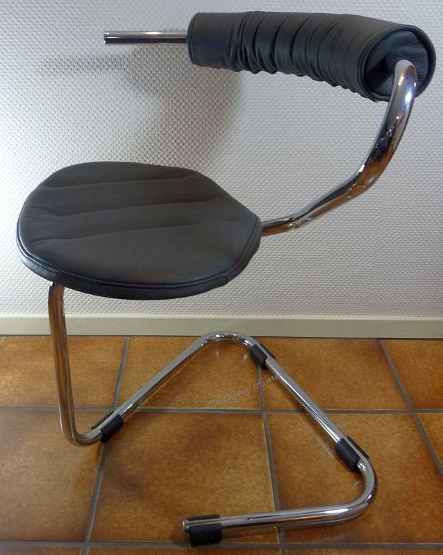 B5 Stuhl von Stefan Wewerka Einschwinger für Tecta, 1982 2