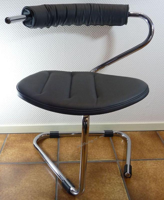 B5 Stuhl von Stefan Wewerka Einschwinger für Tecta, 1982 3