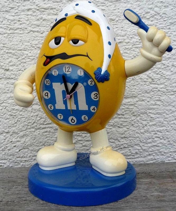 M&M\\\'s Uhr M&M Figur Morgenmann m+m