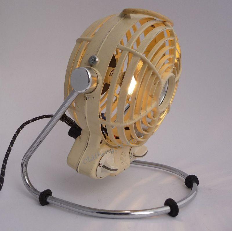 Upcycling A&S Heizlüfter als Lampe DIY 1