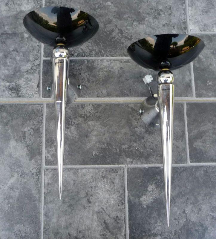 2 Wandlampe von Herstal Fakellampe 1