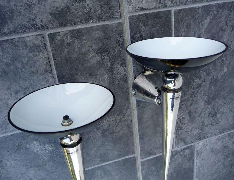 2 Wandlampe von Herstal Fakellampe 2