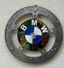 Bremsscheibe Uhr Wanduhr Upcycling DIY Steam Punk