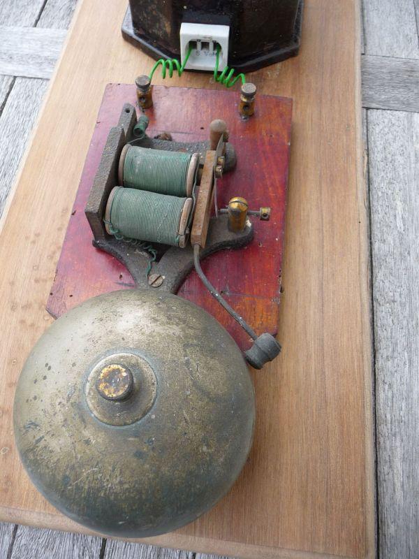 DIY alte Klingelanlage historische Klingel
