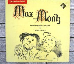 Max und Moritz Single Vinyl Schallplatte 7\\\