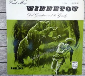 Winnetou Karl May 1.Folge Single Vinyl Schallplatte 7\\\\\\\