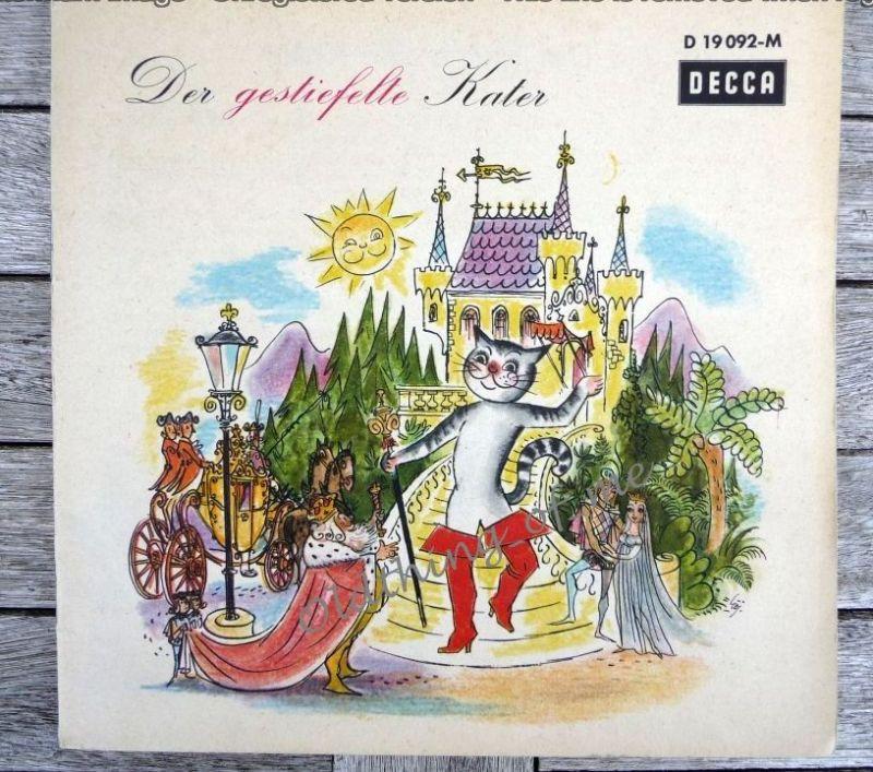 Der gestiefelte Kater Single Vinyl Schallplatte 7\