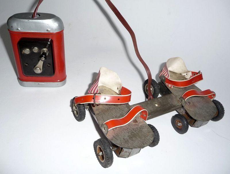 Puppen Rollschuhe batteriebetrieben Heerlein\'s Hannelore funktionstüchtig