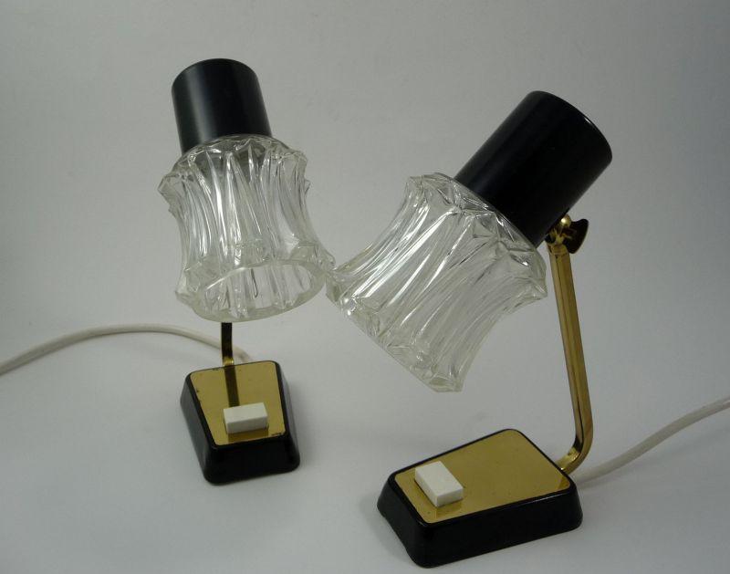 Nachttichlampe 1 Paar aus den 50-60er