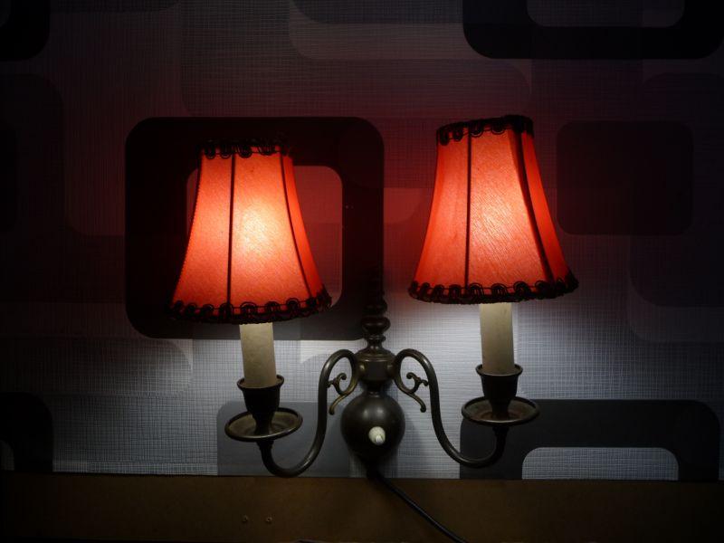 Wandlampe aus den 50er Jahren oder älter ;-) 2
