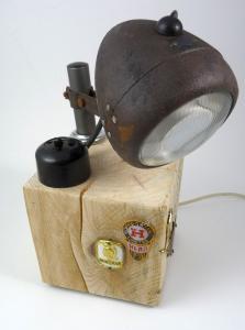 Melas Fahrradlampe umgebaut zur LED Lampe Upcycling