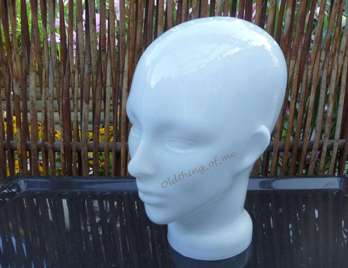 Glaskopf weiß mit Ohren selten 0
