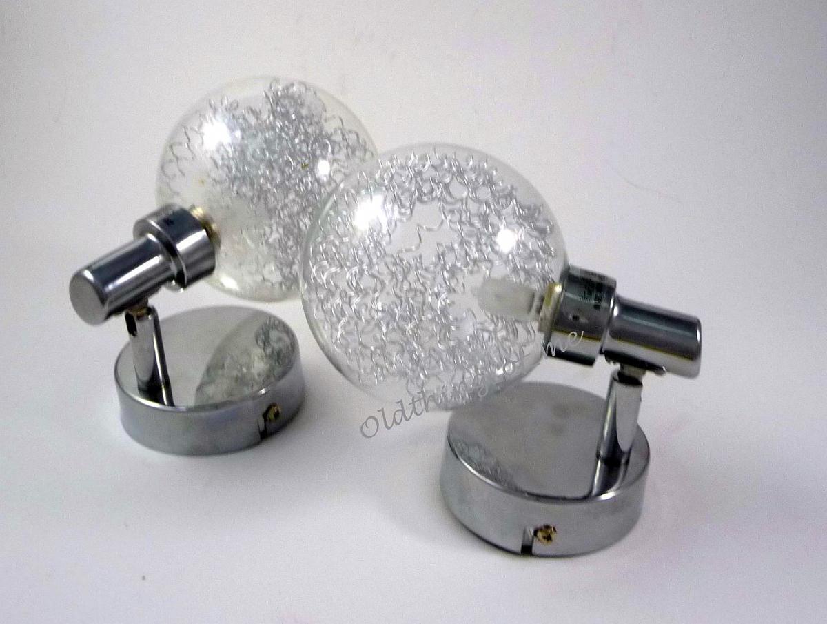 kleine Wandlampen 1 Paar 70er Mid Century 2