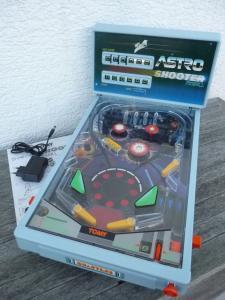 Tomy Astro Shooter Tischflipper Pinball