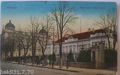 Serbien,  Belgrad, Alter Konak, Feldpoststation 25 (19544)