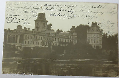Serbien, Feldpoststation 177, AK Mozart 1915 nach Berlin (32796)