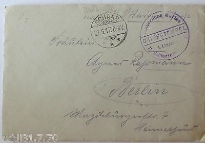 Künstlerkarte Fidus, Lichtgebet, 1922 (28865)