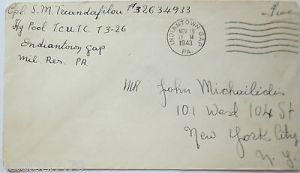 USA, Indiantown GAP 1943 to NYC (19567)