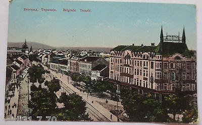 Serbien, Belgrad,  Hauptstrasse, Feldpoststation 25, 1915 (10355)