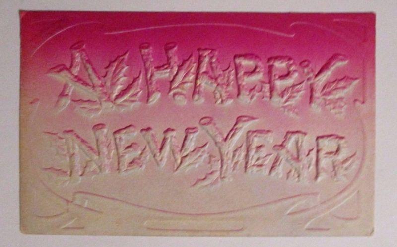 Neujahr, Frohes Neues Jahr\