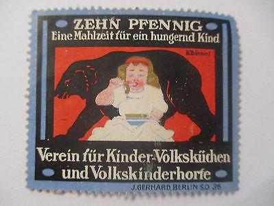 Verein für Kinder Volksküchen, Volkskinderhort, Vignette (41143)