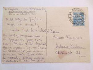 Waldsieversdorf, Blick zu den Bollersdorfer Höhen, 1955 (32803) 1