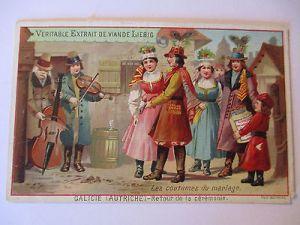 Liebig Sammelbild, Musik, Familie, Pfauenfeder, Mode (41415) 0