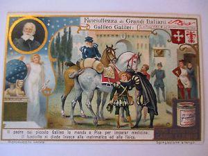 Liebig Sammelbild, Italien, Galileo Galilei (10370) 0
