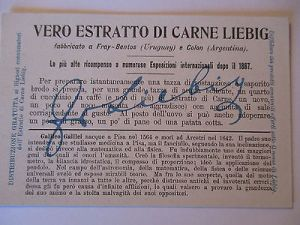 Liebig Sammelbild, Italien, Galileo Galilei (10370) 1