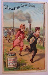 Liebig Sammelbild, Kinder, Eisenbahn (6384) 0