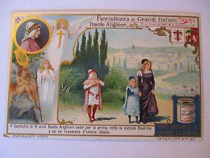 Liebig Sammelbild, Italien, Dante Alighieri (14927) 0