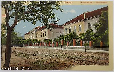 Serbien, Versecz, Honvedkaserne, Feldpoststation 177, 1915 nach Chemnitz (33842)