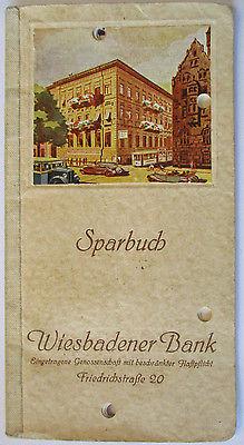 Sparbuch Kreissparkasse Bitterfeld  von 1951 (entwertet) (3488)