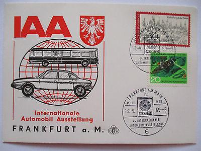 Auto, Internationale Automobilausstellung IAA Frankfurt 1969 (32834)
