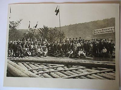 Pionier Regiment 25 (Garnison Mainz),Veteranentreffen, Foto Doerr, 18x24cm..
