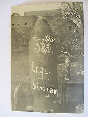 Flandern, Englischer 38,5 cm Blindgänger, Foto (49213)