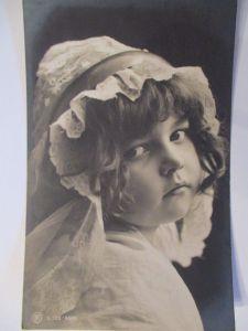 Kinder, Fotokarte 1906 aus Waldmannslust  (9592)
