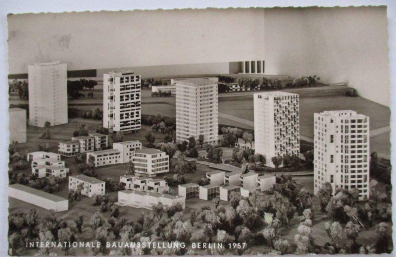Berlin, Internationale Bauausstellung 1957, Karte mit Sonderstempel (41931)